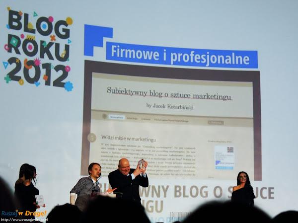 gala blog roku onet 2012 - jacek kotarbiński