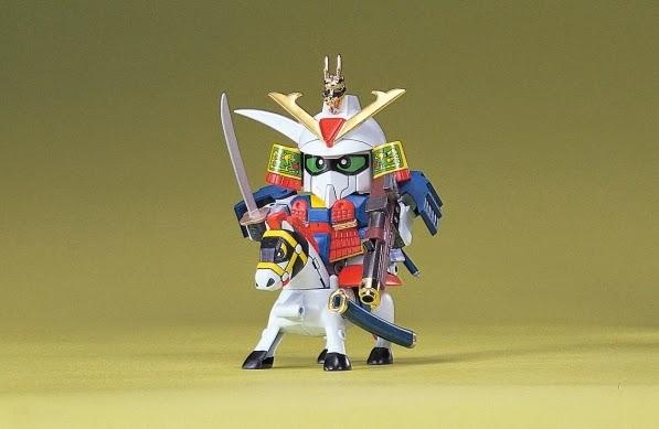 Lắp ghép Musha Z Gundam BB-023 SD Sengokuden không tỷ lệ, cao khoảng 8 cm