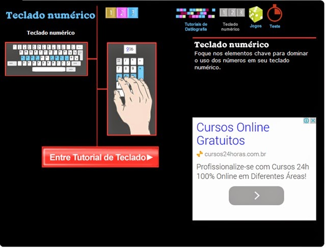 teclado numárico