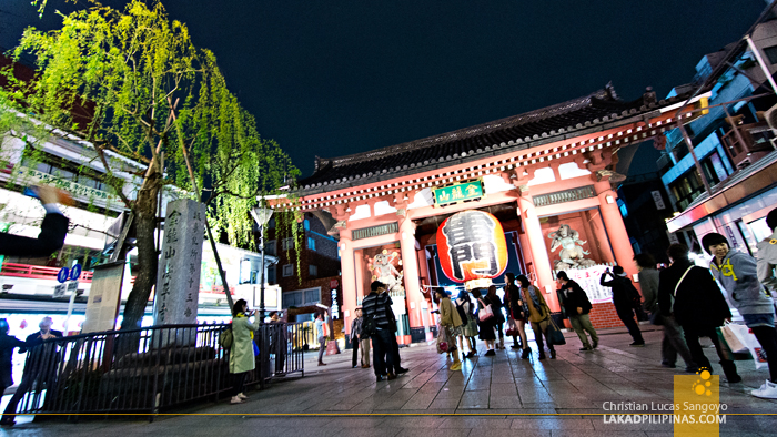 The Kaminari Gate at Asakusa's Nakamise Shopping Street