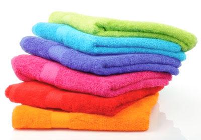 การเลือกใช้ผ้าขนหนู, การซักผ้าขนหนู