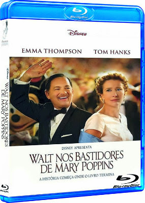 Filme Poster Walt nos Bastidores de Mary Poppins BDRip XviD Dual Audio & RMVB Dublado