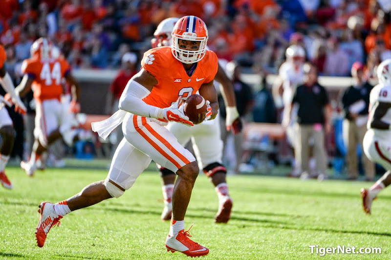 NC State at Clemson Photos - 2014, Football, NC State, Vic Beasley