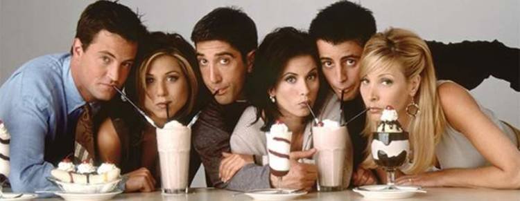 Friends, la eterna serie con Chandler, Rachel, Ross, Monica, Joey y Phoebe