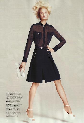 Constance Jablonski - US Harper's Bazaar - November 2011