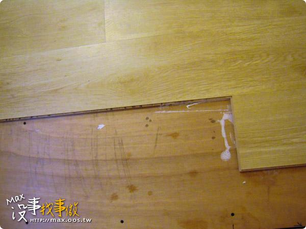 木作 ★ 超耐磨地板DIY實作分享