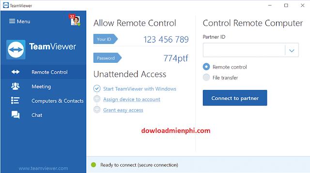 dowload tải phần mềm teamviewer 12 full active mới nhất Hướng dẫn cài đặt - 261521