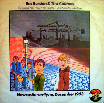 Eric Burdon & The Animals - 1963 - Newcastle-on-Tyne, December, 1963