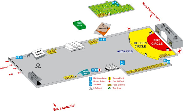 OST Fest 2012 - Map