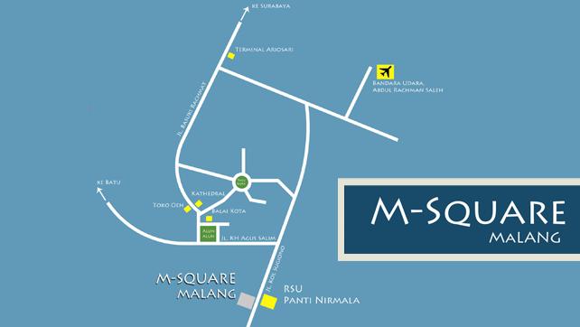Lokasi M-Square