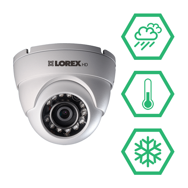 IP66 weatherproof HD security cameras that stabd up to all types of weather conditions