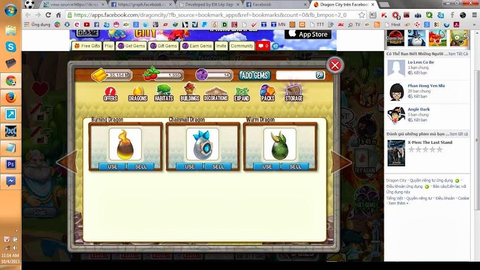 HƯỚNG DẪN - Hack Dragon City WORKING 100% ( Dragon + Gold + Gems +