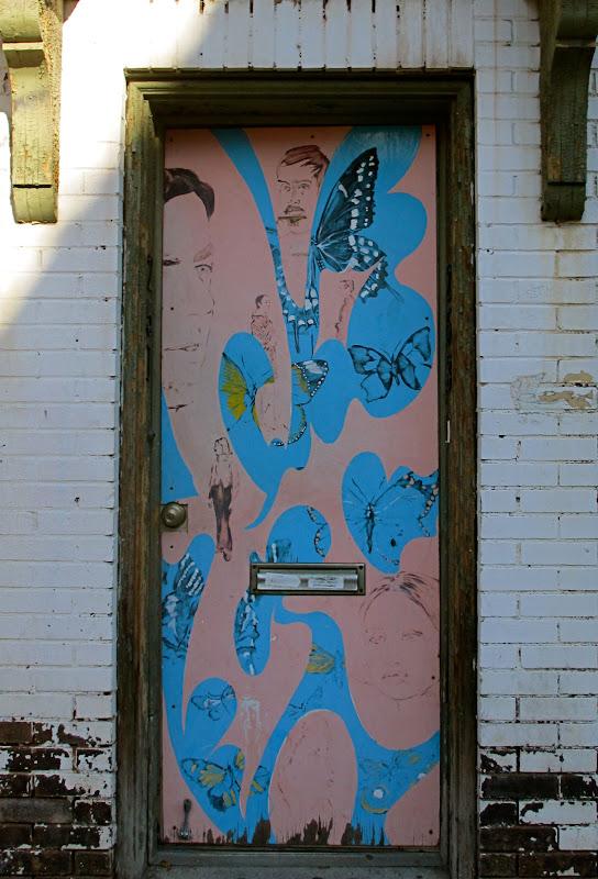Doors of Oakland #6 Mural by James Maszle Doors of Oakland 253 Atwood St Oakland  Pittsburgh 15213 40.439974-79.9560 & Doors of Oakland #6 Mural by James Maszle Doors of Oakland 253 ...