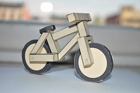 Create2Destroy Papercraft Bike V1
