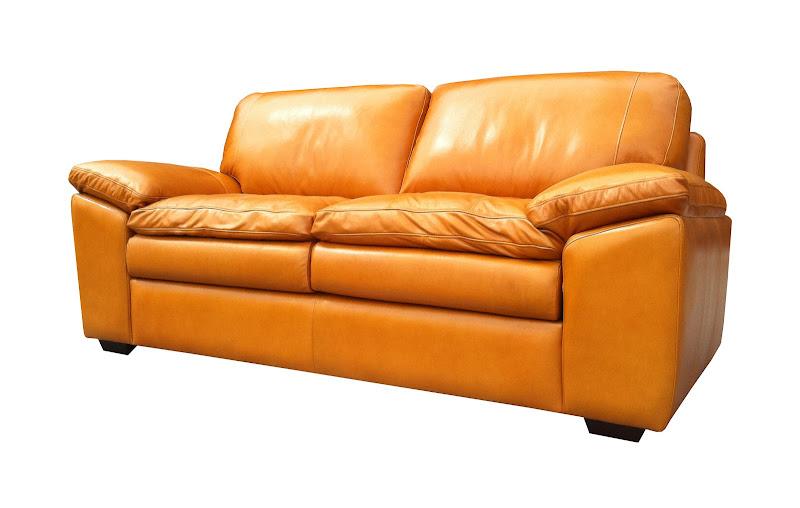 โซฟาหนังออย์แท้ 3 ที่นั่ง เบาะ 3 ชั้น ให้สัมผัสที่นิ่มนวลในการนั่ง