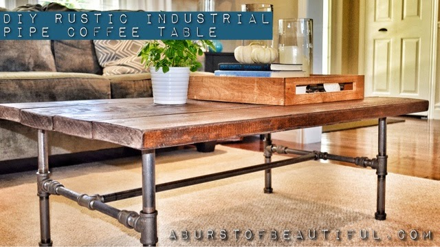 How To Make Your Own Industrial Coffee Table