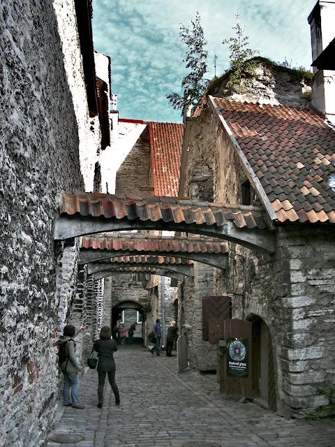 Katariina käik (St. Catherine's Passage). Tallinn, Estonia