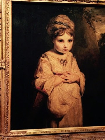 The Wallace Collection, Sir Joshua Reynolds exhibition 2015, The Strawberry Girl