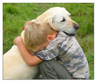 Warm Hug, hug a dog, god hug, needed hug