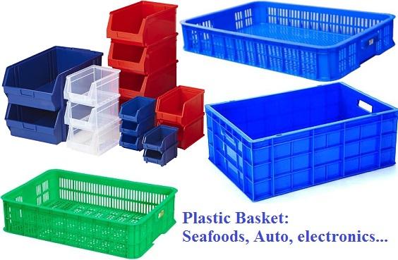 Khay nhựa - Rổ nhựa