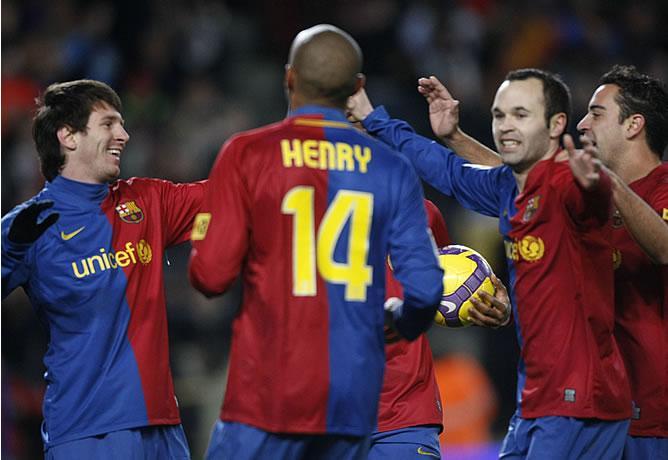 Jugadores del Barcelona pasan un control antidopaje