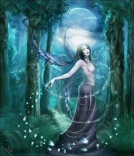 Goddess In The Wood Image