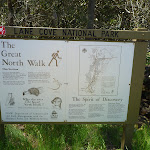 The Great North Walk sign at Max Allen Drive (346756)