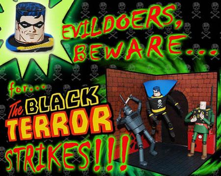 Black Terror Papercraft
