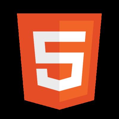 HTML5 logo dowload psd