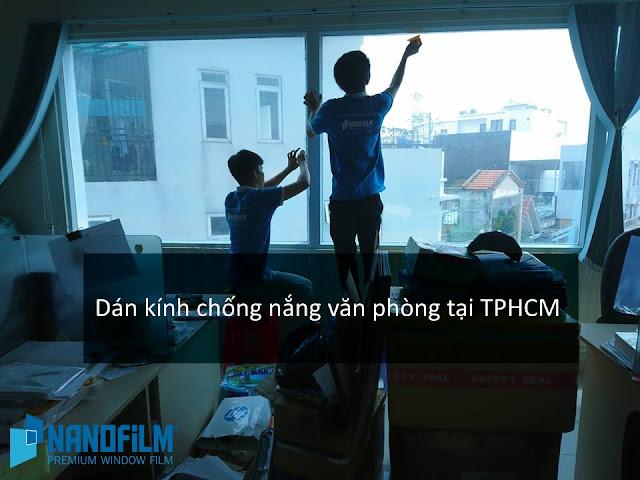 Dán kính chống nắng cửa sổ tại TPHCM