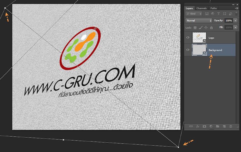 เทคนิคการทำภาพ Logo แนวลายปักเสมือนจริง Emb_logo07