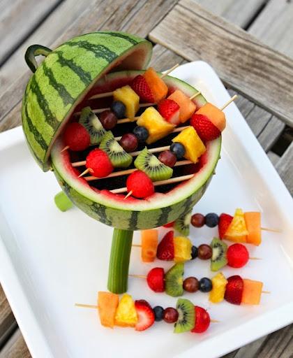 Como decorar un plato de frutas para ni os - Como decorar platos ...
