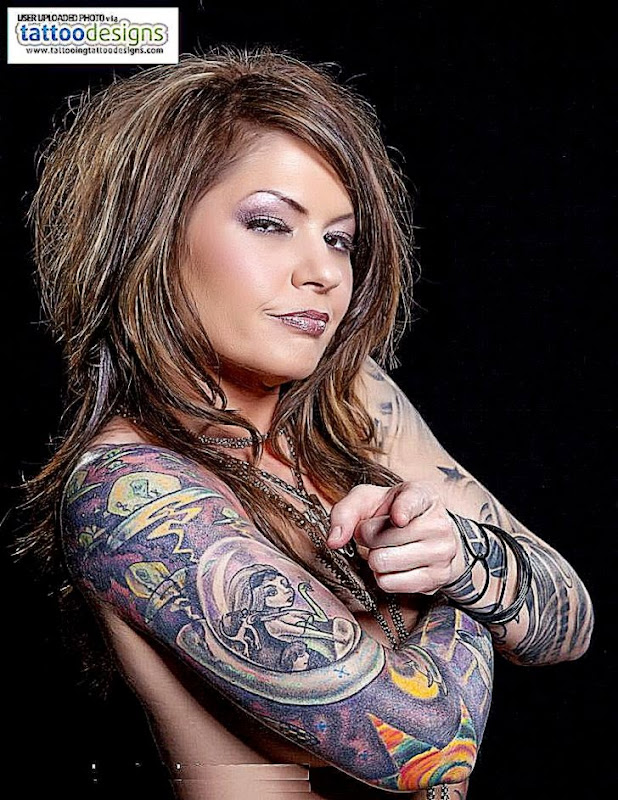 Cool Body Art Tattoos