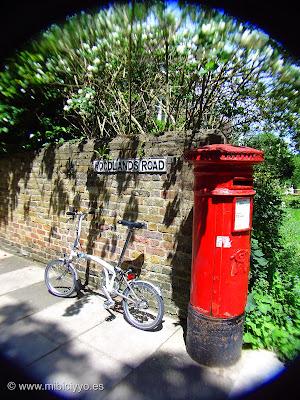 Brompton y buzon de correos, Londres