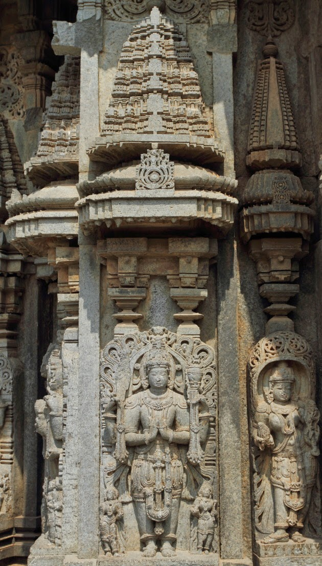 Mini Temples in the Hoysala Temple Sculptures