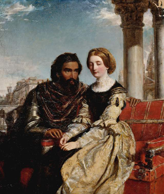 William Powell Frith - Othello and Desdemona