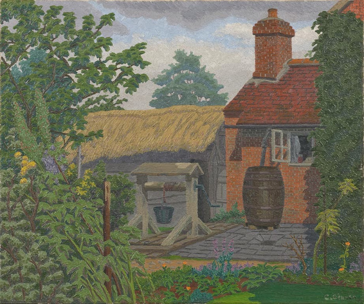 Charles Ginner - Novar Cottage, Bearley, Warwickshire