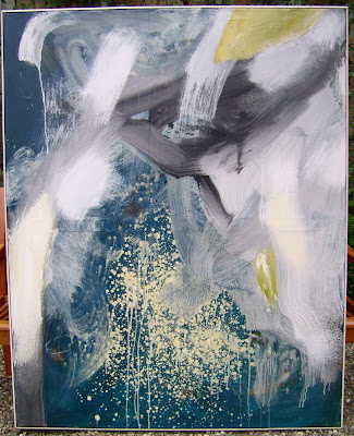 Liquide, 1997 150 x 120 cm, acrylique sur toile