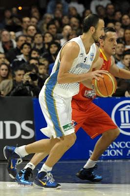 wearing brons nba lebron9 id manu ginobili 01 Wearing Brons: Manu Ginobilis Nike LeBron 9 iD Argentina
