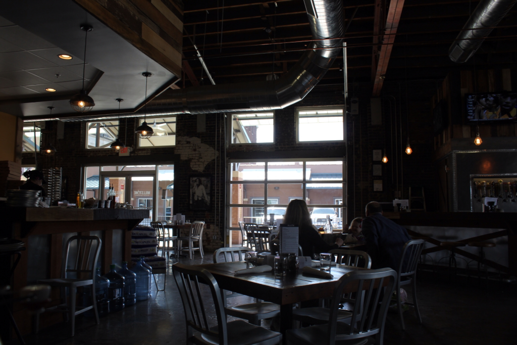 Confessions of a Former Couch Potato: Millstone Pizza and Taphouse