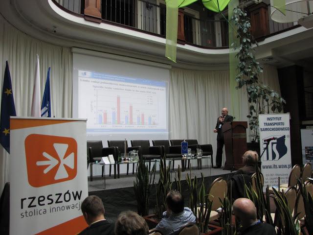 BalticBiogasBus - program promujący wykorzystanie biometanu w transporcie. Konferencja w Rzeszowie, październik 2011