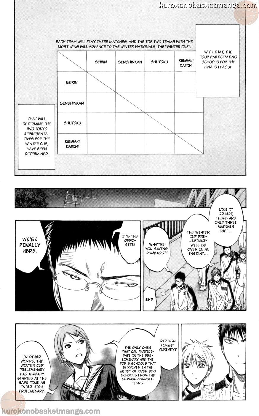 Kuroko no Basket Manga Chapter 84 - Image 04