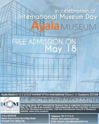 travel, travel deals, The Ayala Museum, Makati, International Museum Day