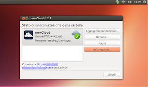 client ownCloud su Ubuntu Linux