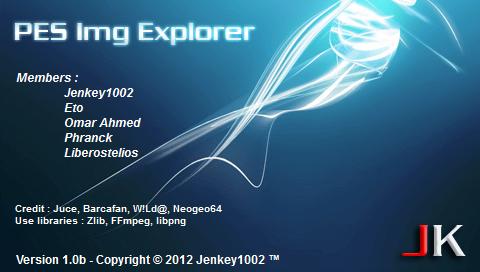 PES Img Explorer 1.0 beta - PES 2012