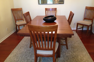 72″ x 42″ Albany Mission Dining Table in Washington Oak