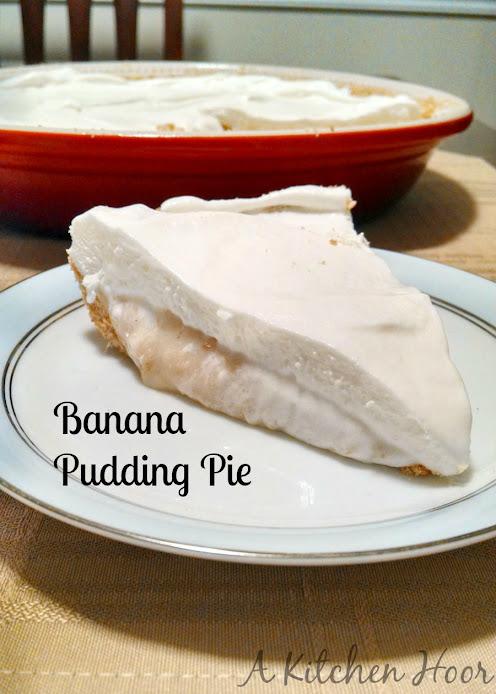 Banana Pudding Pie – #SundaySupper Summer BBQ Party