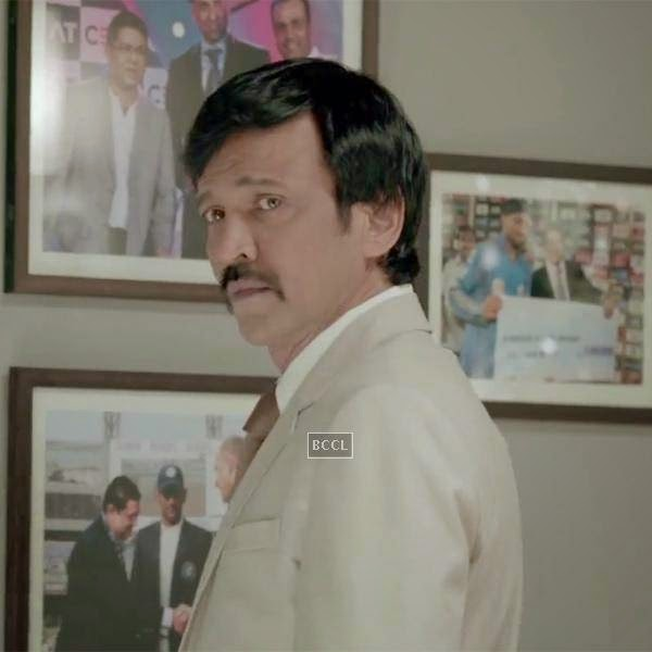 Kay Kay Menon in a still from the Bollywood film Raja Natwarlal.