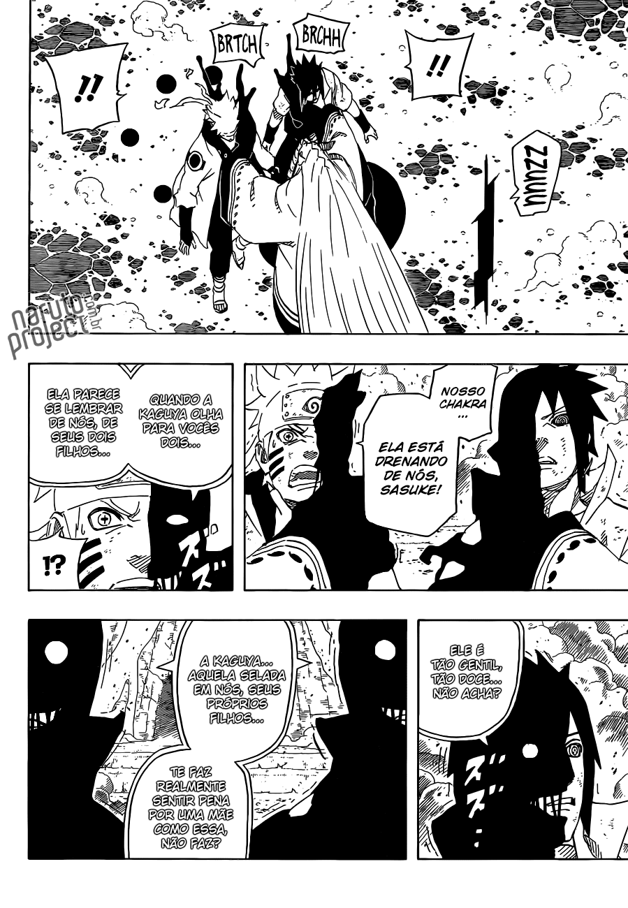 Naruto Manga Chapter 681 Review/Live Reaction -- Kaguya=Juubi ...