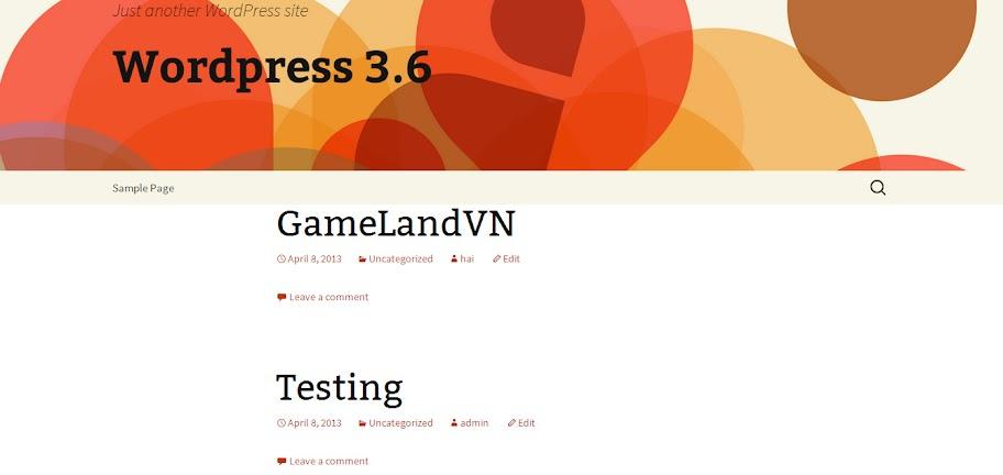 Trải nghiệm Wordpress 3.6 trước giờ ra mắt - Ảnh 3